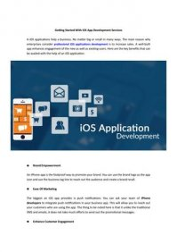 Getting Started With iOS App Development Services by App Sted - issuu
