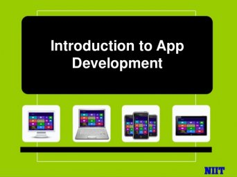 Introduction to app development